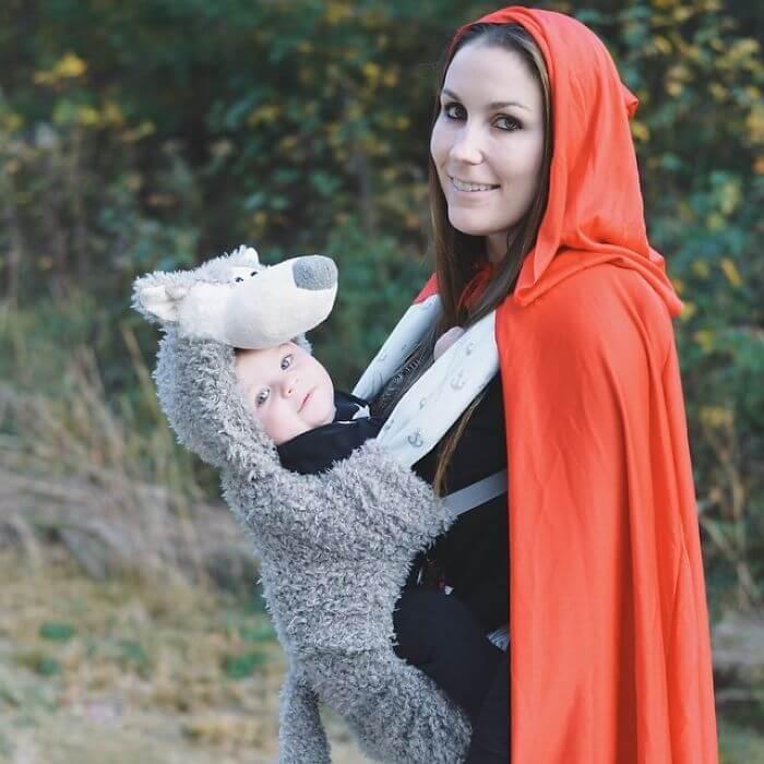 9e49a771c 29 ideias de disfarces de Halloween geniais para pais com bebés